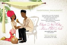Excellent Photo Omasili'm Nigerian Igbo Traditional Wedding Invitation Strategies Wedding Invitation Cards-Our Methods When the date of one's wedding is fixed and the Place is book Wedding Invitation Card Wording, Engagement Invitation Cards, Simple Wedding Invitations, Wedding Programs, Wedding Tips, Wedding Cards, Wedding Ceremony, Budget Wedding, Wedding Blog