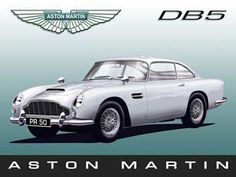 "Aston Martin DB5 Metal Sign: Automobiles and Cars Decor Wall Accent by OMSC. $19.50. This sign measures 16"" x 12"" (400 mm x 300 mm). Glossy, full-color, enamalized imaged baked onto thick, 24-gauge steel. Rounded corners with holes for easy hanging. Eco-friendly process, hand-made in the USA. Ships in Ploy-bag for complete protection. The ""Aston Martin DB5 Metal Sign"" is hand-made in America. These sturdy metal signs will perfectly accent any kitchen, home, bar, pub, game..."