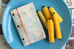Fun Paper and Pencil Snack for Back-to-School | Alpha Mom