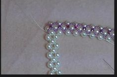 Video: Montee Pearl Necklace #Seed #Bead #Tutorials