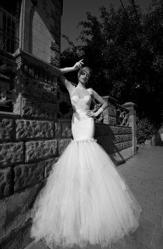 Fantástica colección de vestidos de novia con un estilo inspirado en los años 20 de la firma Galia Lahav Haute Couture.