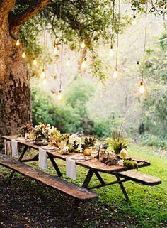 Wedding picnic