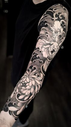35 cool sleeve tattoos - 35 cool sleeve tattoos for men & women # . - 35 cool sleeve tattoos – 35 cool sleeve tattoos for men & women for men forearm - Japanese Flower Tattoo, Japanese Tattoo Designs, Japanese Sleeve Tattoos, Best Sleeve Tattoos, Sleeve Tattoos For Women, Tattoo Sleeve Designs, Arm Tattoos For Guys, Tattoo Designs Men, Leg Tattoos