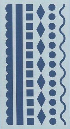Border Pattern, School Decorations, Metal Projects, Boarders, Stencil Designs, Jewelry Patterns, Simple Nails, Metal Stamping, Overlays