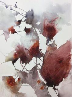 akvarell av konstnär Ylva Molitor-Gärdsell, Österlen