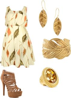 """warm autumn"" by amywheeler on Polyvore"