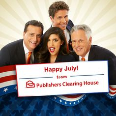 July is a great month for PCHers. There are lots of fun ways to win cash and tokens all month long! Just refer to this handy PCH Schedule – New Sweepstakes For July. Sweepstakes Today, Instant Win Sweepstakes, Win For Life, Winner Announcement, Publisher Clearing House, Winning Numbers, Happy Fourth Of July, Become A Millionaire