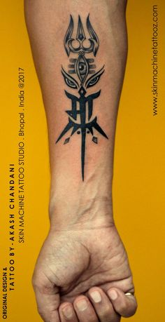 Custom Maa with Shiva Durga elements Tattoo by AKash Chandani - - #Uncategorized