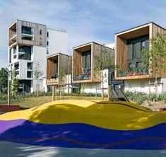 Eco-quartier Ginko Bouygues Immobilier, Bordeaux, 2015 - Brochet Lajus Pueyo agence d'architecture