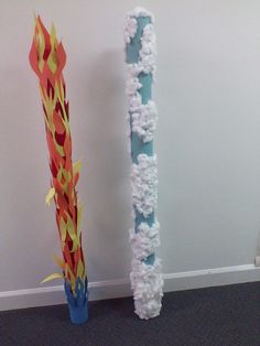 Pillar of fire and cloud, for out VBS 2013 Might God, Moses and Me.