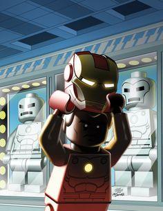 LEGO Iron Man by Leonel Castellani *