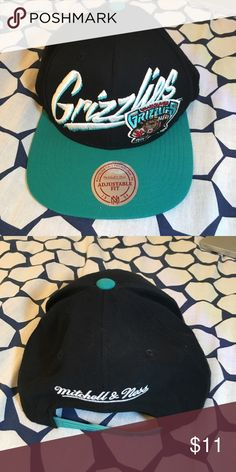 Grizzlies Mitchell and Ness SnapBack Hat Good condition Grizzlies hat by  Mitchell and Ness. SnapBack bd9de9f1a6c
