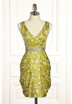 LEIFSDOTTIR Anthropologie Gilded Garden Temple Silk  Dress