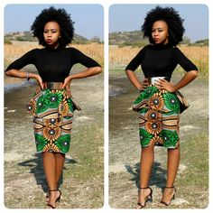 African Print Peplum Pencil Skirt; African Print; African Clothing; African Skirt; African Fashion; New African Style; New African Fashion by MdyAfricanDesigns on Etsy https://www.etsy.com/listing/241163253/african-print-peplum-pencil-skirt