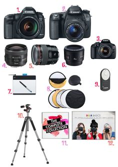 photography gear recommendations from ABM