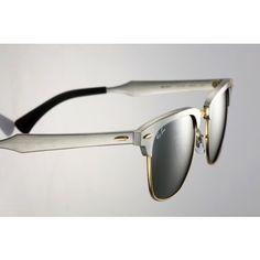 ray ban clubmaster aluminium rb3507 prata espelhado. Oculos De Sol,  Carteiras, Brincadeiras, 619af02077