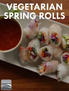 This Vegetarian Spring Roll recipe will please everyone, even the carnivores.