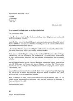 Anschreiben - Inhalt und Gestaltung, mit Muster German Language, Room, Organization, Cover Letter Example, Resume Templates Word, Cv Resume Sample, Bedroom, Rooms, German