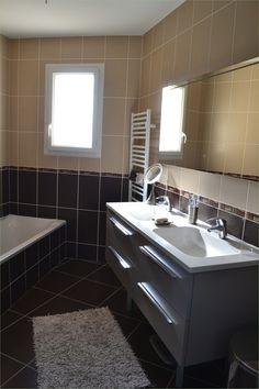 Carrelage marron salle de bain ousheinovo info salle de bain avec ...