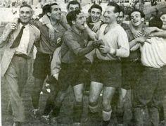 Metropolitano de Madrid. R.Murcia 2-R.Oviedo 0, y a 1ª División (2 de julio de 1950) EL MISMO DÍA Y A LA MISMA HORA - RCMAGAZINE – Revista Cultural del Real Casino de Murcia