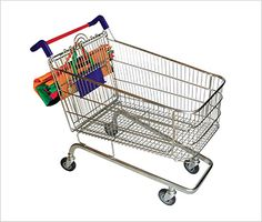 Trolley bags reusable green grocery shopping