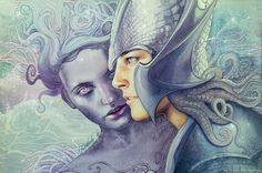 Osse and Uinen by kimberly80 on DeviantArt