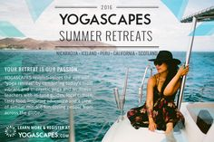 2016 Summer Retreats with Yogascapes
