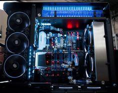 Maingear PC : Photo Custom Gaming Computer, Custom Computers, Pc Gaming Setup, Gaming Pcs, Computer Setup, Pc Setup, Computer Equipment, Custom Pc, Pc Cases