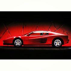 Iconic 80s SuperCar: Ferrari Testarossa