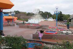 Epcot - Leap Frog Fountains near the Imagination Pavilion