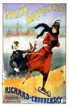 """24x32 /""""Continental/"""" Tires Hobo Classic Victorian French Art Poster"""
