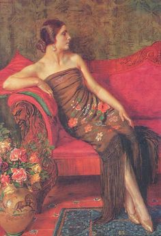 George Owen Wynne Apperley Rosa Granadina painting for sale, this painting is available as handmade reproduction. Shop for George Owen Wynne Apperley Rosa Granadina painting and frame at a discount of off. Classic Paintings, Beautiful Paintings, Woman Painting, Figure Painting, Painting Tips, Poesia Visual, Donia, Arte Popular, Classical Art