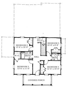 Historic Southern House Plan   Southern House Plans  House    Historic Southern House Plan
