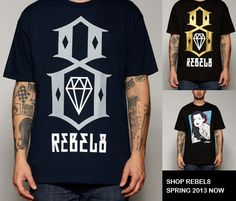 Shop Rebel8 Spring 2013 here! WWW.EVERYTHINGHIPHOP.COM FREE UK SHIPPING  ON ALL ORDERS -  WE SHIP WORLDWIDE