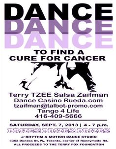 DANCE TO FIND A CURE FOR CANCER | TorontoDance.com