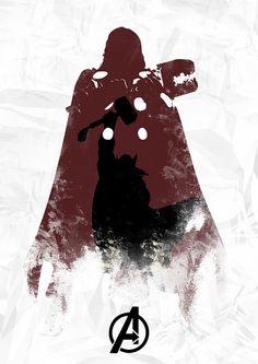 Thor by Owen Seago, via #Flickr #design #poster