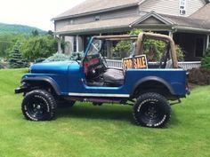 Car brand auctioned:Jeep CJ 1980 Car model jeep cj chevy powered cj 7 350 305 4 x 4 fuel injected v 8 fiberglass tub