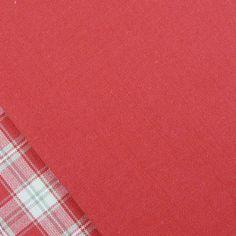 Woven Blush Red - Billow Fabrics