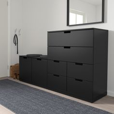 IKEA offers everything from living room furniture to mattresses and bedroom furniture so that you can design your life at home. Check out our furniture and home furnishings! Shoe Dresser, Malm Dresser, 8 Drawer Dresser, Tall Drawers, Painted Drawers, Nordli Ikea, Ikea Bedroom Storage, Clothes Drawer, Wooden Shoe Racks
