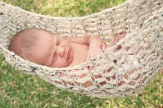 Newborn Hammock Photo Prop Crocheted   Made To by PowersOfLove, $40.00