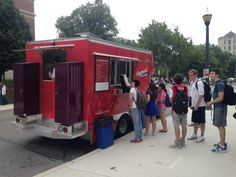 OSU's Thyme and Change food truck serves the Ohio State community Sept. 10, 2014. Credit: Daniel Bendtsen / Asst. arts editor