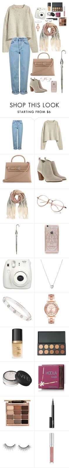 """""""Untitled #300"""" by saraxionggg on Polyvore featuring Topshop, Alexander Wang, MICHAEL Michael Kors, Mint Velvet, Fulton, Rifle Paper Co, Fujifilm, Links of London, Cartier and Michael Kors"""