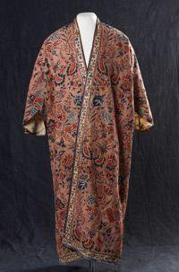 Robe de chambre pour homme, Côte de Coromandel, vers 1750