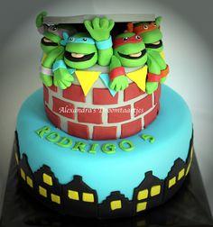 Ninja Turtles cake Ninja Turtles taart