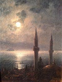 Ivan Konstantinovich Aivazovsky - Bord de mer (Bosfor)