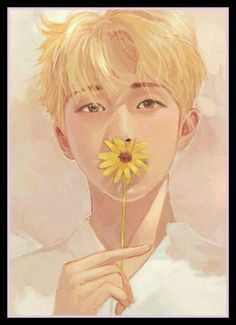 Fanart Kim Namjoon BTS Love Yourself