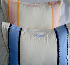 Sonequinha: Travesseirinhos Personalizados Sonequinha