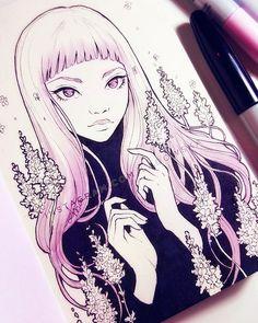 Lavender by Ladowska.deviantart.com on @DeviantArt