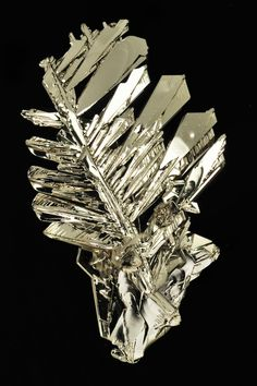 Exceptional Platinum Crystals Photo by R.Tanaka on Flickr  Geology Wonders