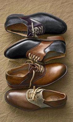 Los zapatos. Un toque distintivo del hombre moderno. ~ El Blog que está de Moda